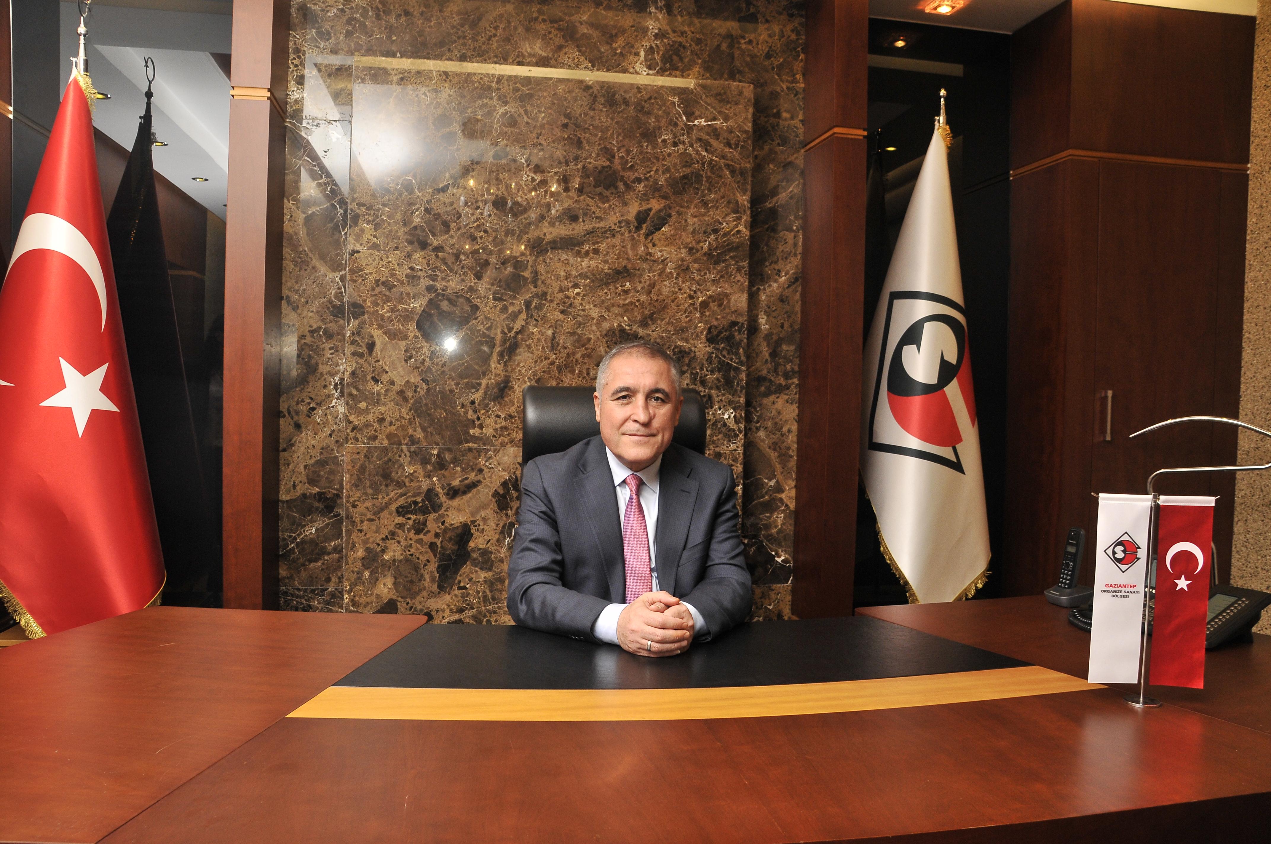 GAOSB Başkanı Cengiz Şimşek: Anadolu'nun üretim merkeziyiz