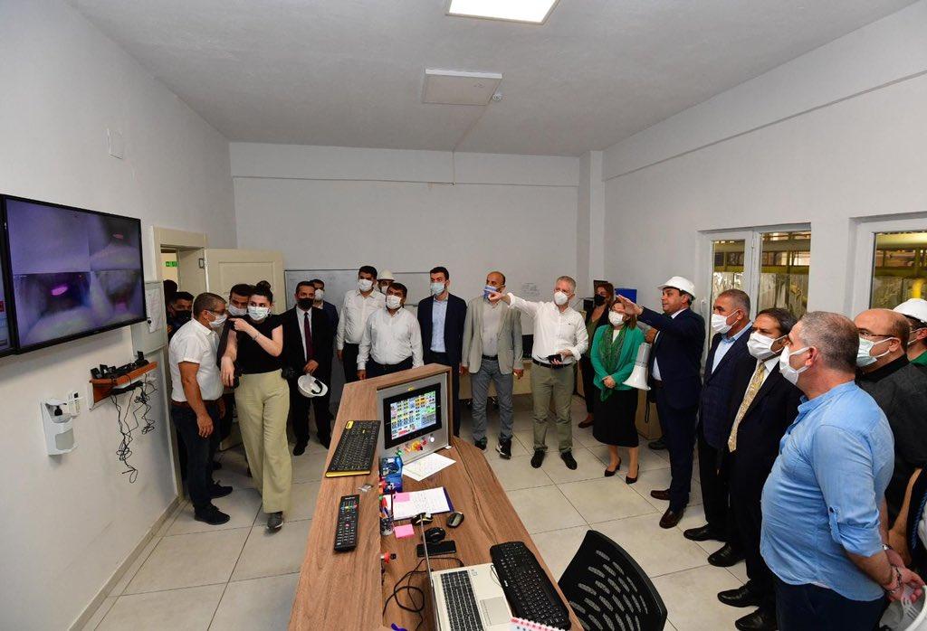 Gaziantep OSB çevre yatırımlarına devam ediyor